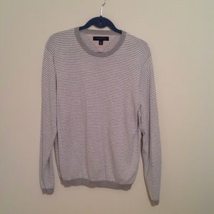 Tommy Hilfiger men's striped sweater size Large